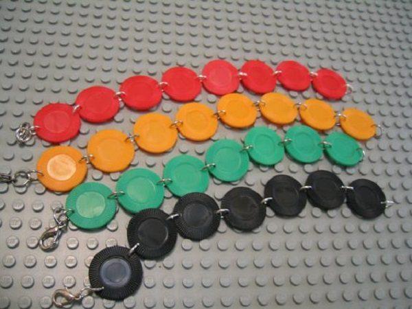 Casino Chips Used to Make Bracelets