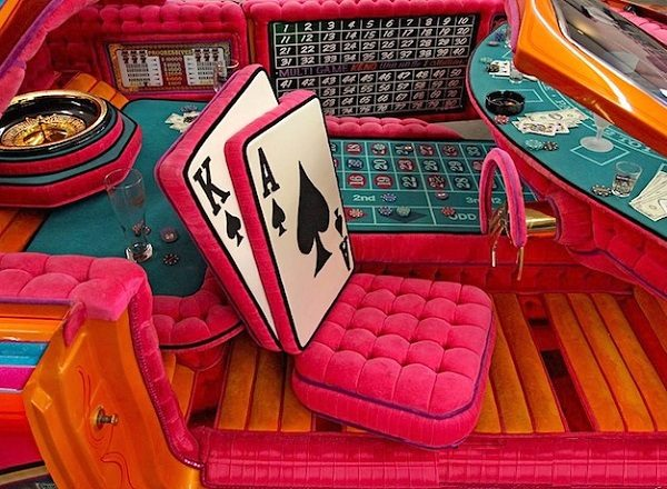 Poker/Casino Car Interior