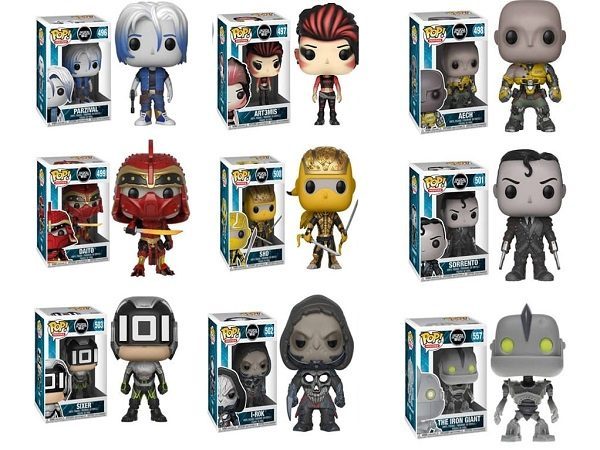 Ready Player One Funko Pop! Characters