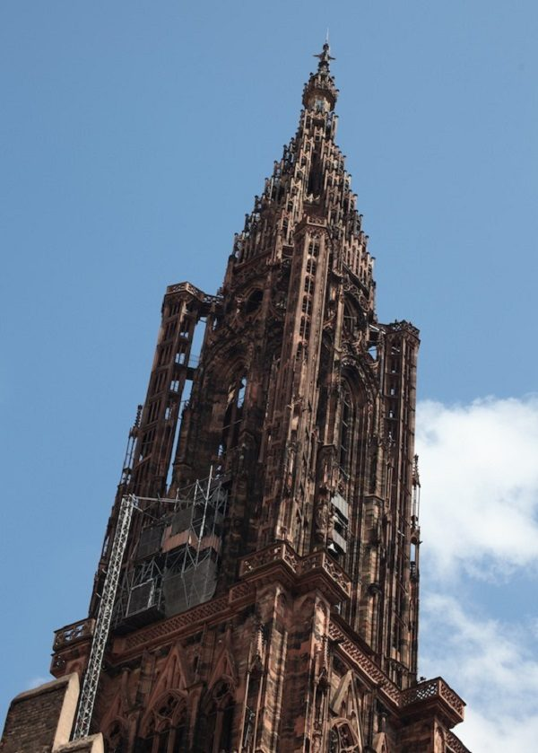 Tower of Strasbourg Cathedral, France
