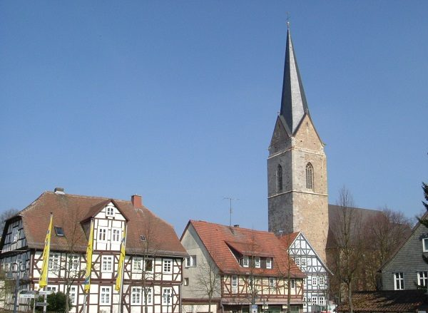 Tower of St. Nikolai, Germany