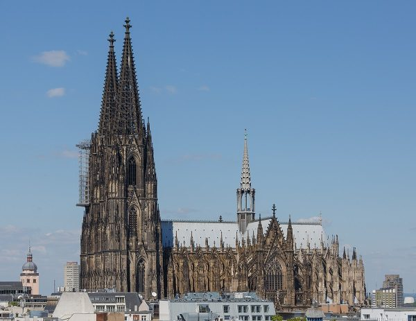 Tower of Cologne Cathedral, Germany