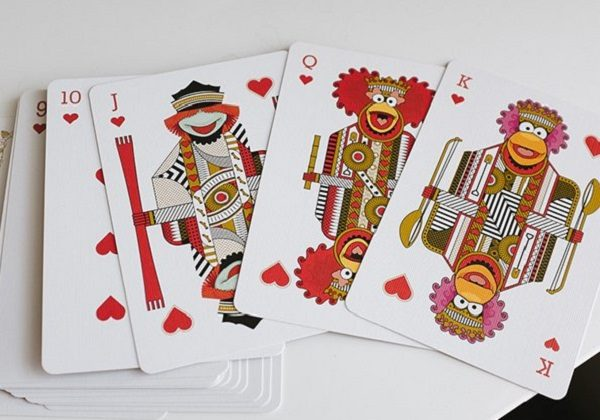 Fraggle Rock Themed Playing Cards
