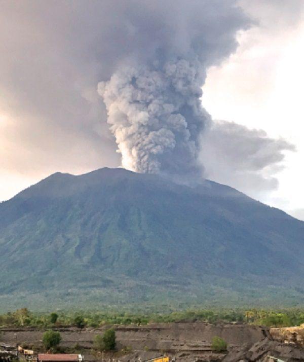 Mount Agung Volcano, Indonesia