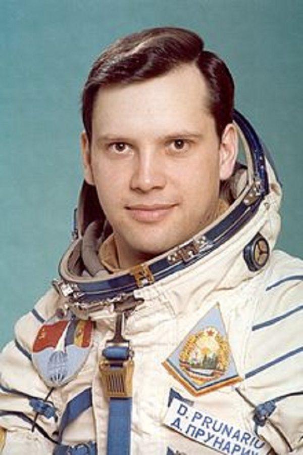Dumitru Prunariu from Romania