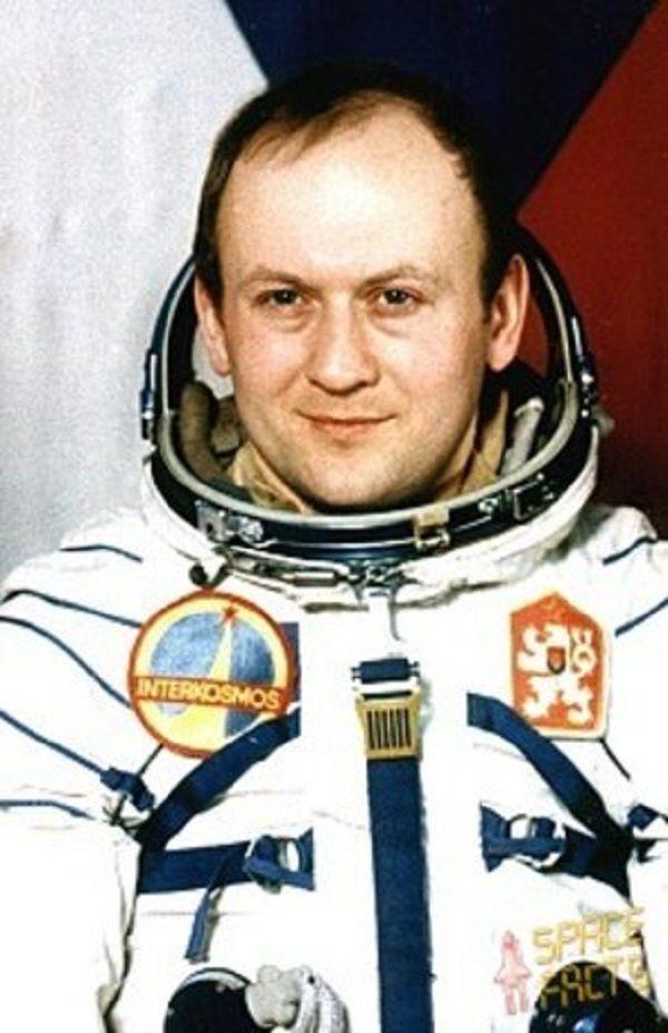 Vladimír Remek from Czech Republic