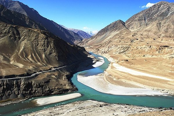 Indus Gorge in Pakistan