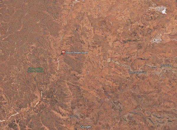 Gibson Desert in Australia