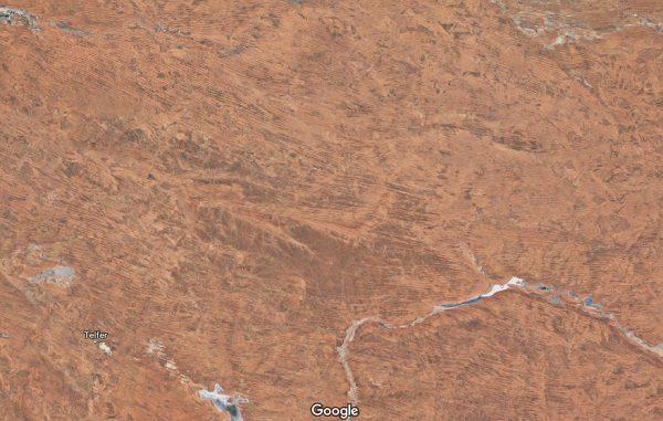 Great Sandy Desert in Australia