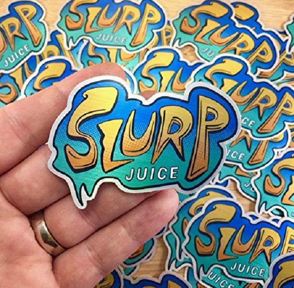 Slurp Juice Stickers