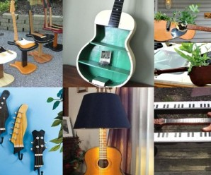 Ten Amazing Things to Can Make and Do With Old Guitars