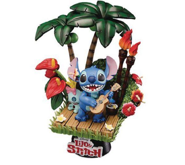 Lilo & Stitch 6in Singing Statue