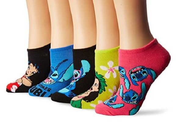 Pack of 5 Lilo and Stitch Socks