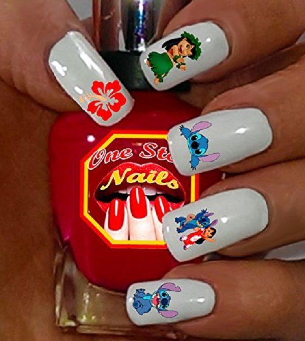 Disney's Lilo & Stitch Nail Art Decals