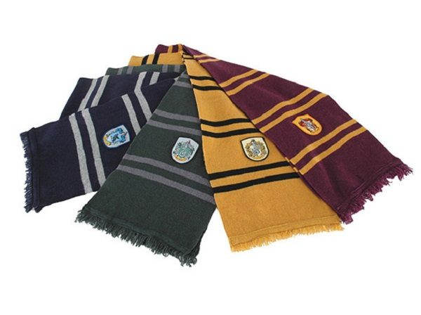 "72"" Soft Lambs Wool Harry Potter House Colours Scarf"
