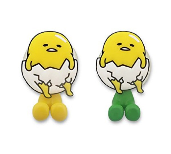 Set of 2 Gudetama Toothbrush Holders