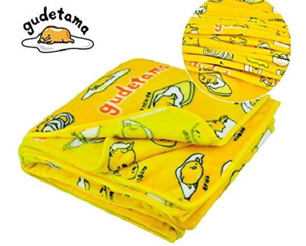 Gudetama Soft Throw Blanket
