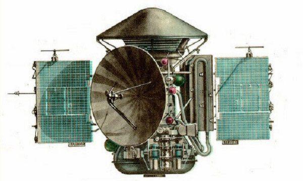 Mars 2 Planetary Probe