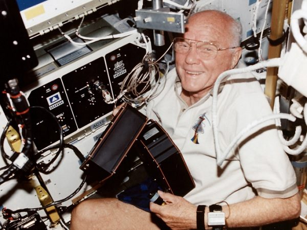 The Ten Oldest Astronauts to Have Gone Into Space