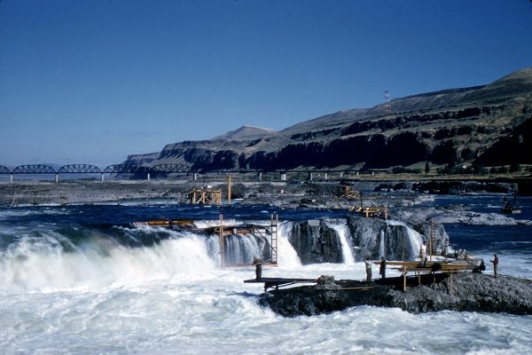 Celilo Falls (submerged), United States