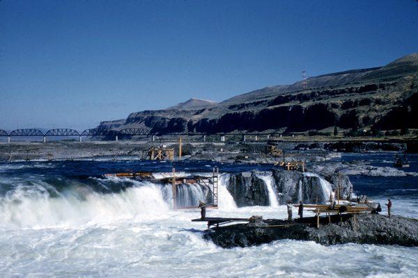 Celilo Falls (submerged), United States