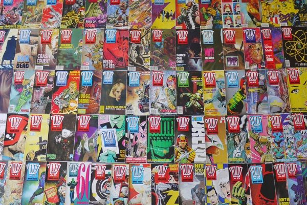 2000 AD Comic Books