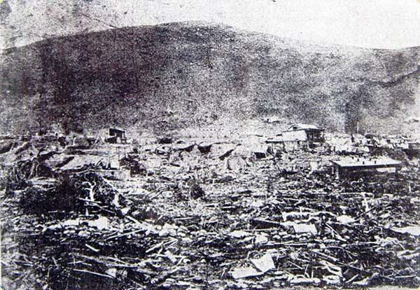 The Arica Earthquake in 1868