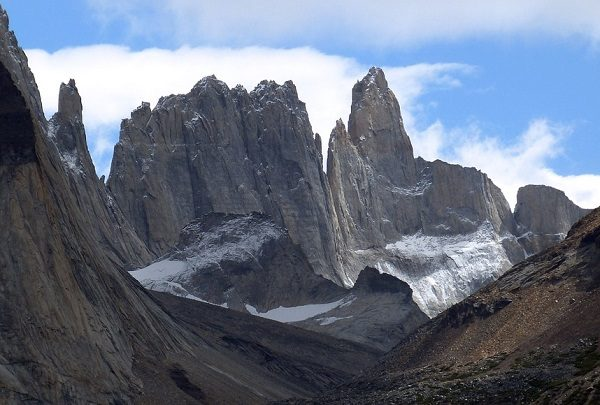 Patagonian Desert in South America