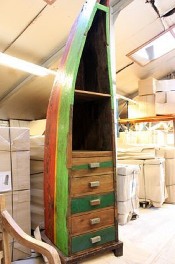 Canoe/Kayak Used to make a cabinet