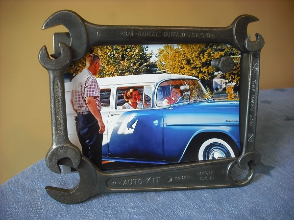 Spanners Turned Into a Picture Frame