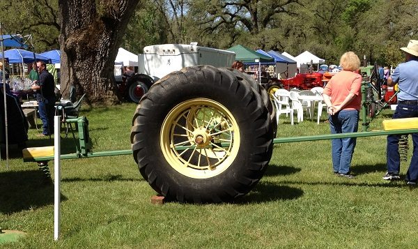 See-Saw Made From an Old Tractor Tyre