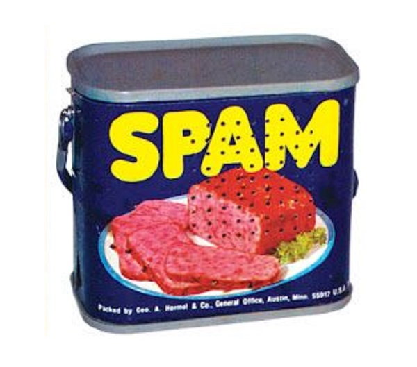 Novelty Spam Canned Meat Radio