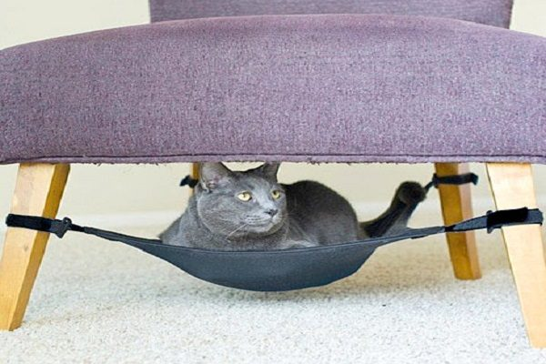 Under Chair Hammock for Cats