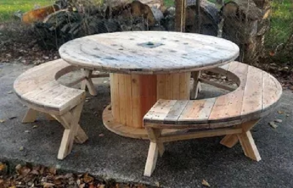 Picnic Table and Seats