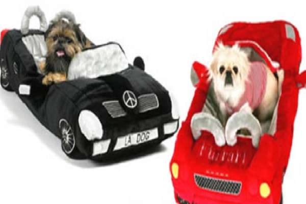 Car Shaped Dog Beds