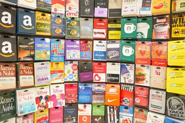 Gift Cards Gift Idea for a Teacher