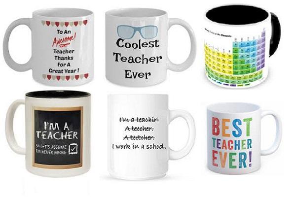 Novelty Mug Gift Idea for a Teacher