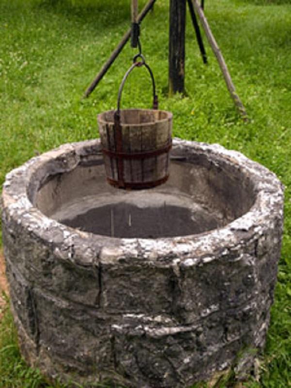 Organic farms use water well