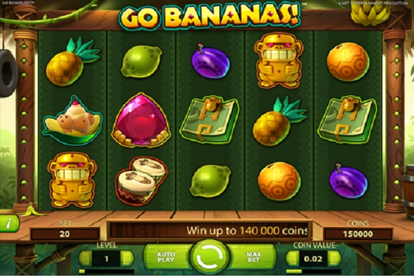 Go Bananas VR Slots