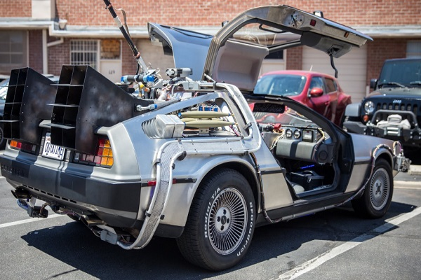 Things From Movies That You Wish Were Real: DeLorean Time Machine
