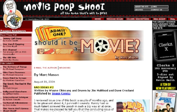 Movie Poop Shoot