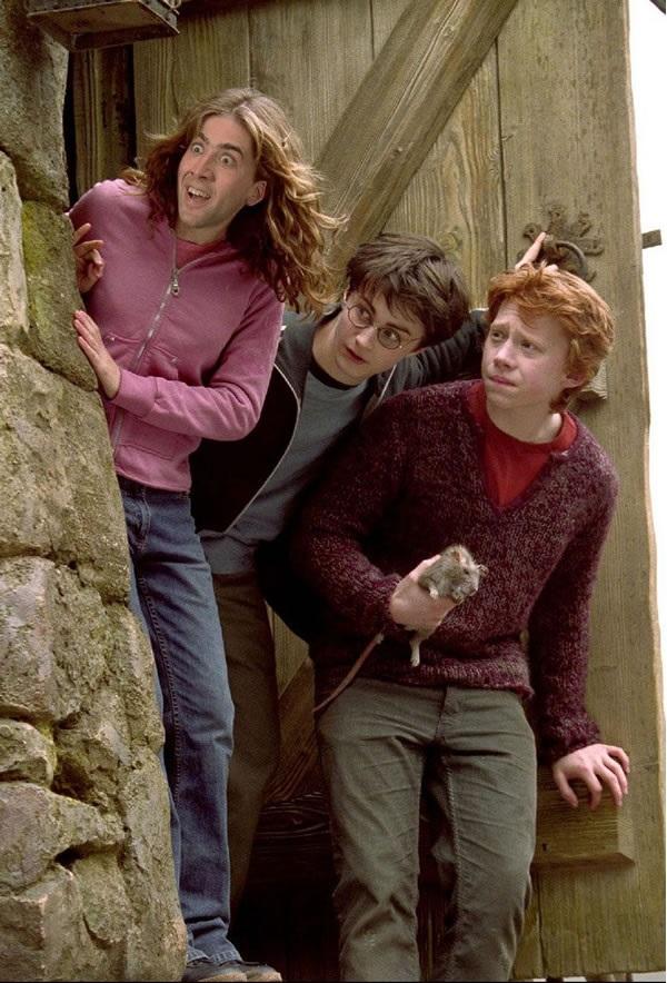 Nicolas Cage as Hermione Granger