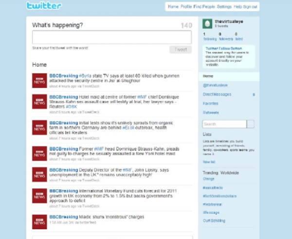 This is what Twitter used to look like!