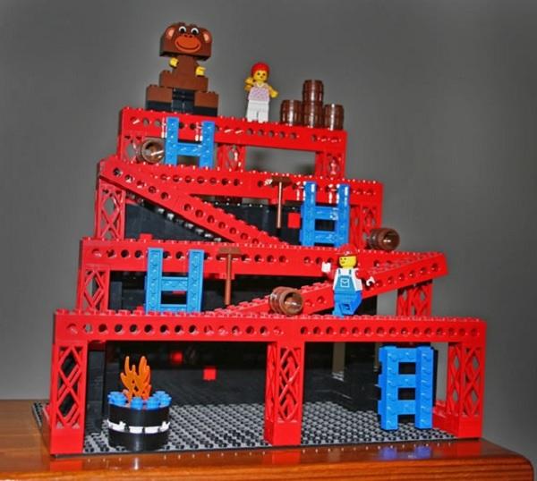 LEGO Donkey Kong Scene (Arcade)