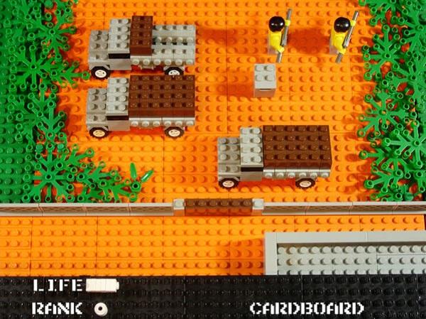 LEGO Metal Gear Scene (NES)