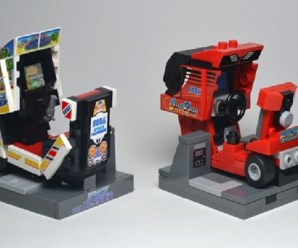 Ten Retro Videogame Scenes Recreated Using Nothing but Lego