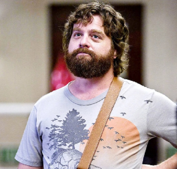 """Zach Galifianakis in the movie """"The Hangover"""""""