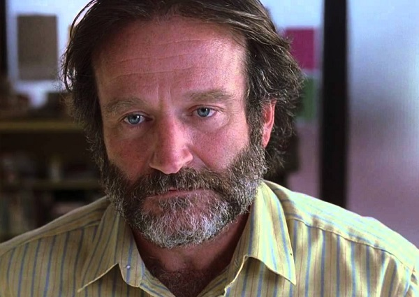 "Robin Williams in the movie ""Good Will Hunting"""
