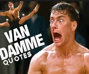 Ten of the Funniest Jean-claude Van Damme Quotes You Will Hear