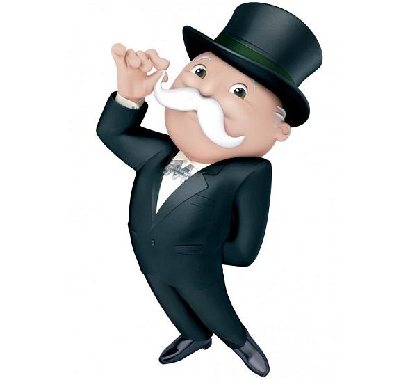 Monopoly Mascot aka Milburn Pennybags